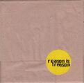 Reason Is Treason Promo CD (PARADISE03) - 2