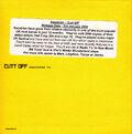 Cutt Off Promo CD (PARADISE24) - 3