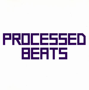 Processed Beats CD Single (Japan) - 1