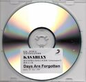 Days Are Forgotten Promo CD-R (Hong Kong) - 3