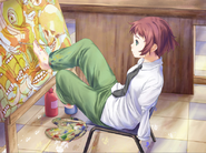 Rin painting