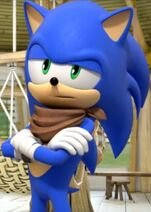 Sonic the Hedgehog Crossing His Arms (Sonic Boom Edition) 3