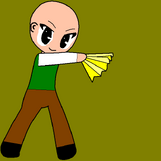 Wallace dancing samurai