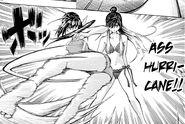 Nozomi uses Butt Hurricane