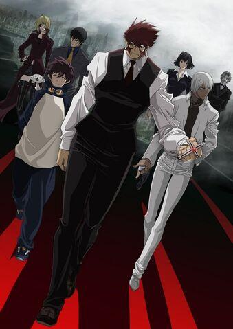 File:Kekkai Sensen Anime Key Visual.jpg