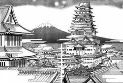 Karasumori-town