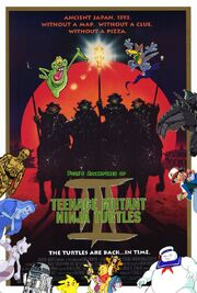Pooh's Adventures of Teenage Mutant Ninja Turtles III Poster