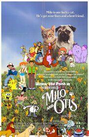 Winnie the Pooh in The Adventures of Milo & Otis