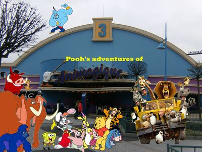 Pooh's adventures of Animagique Poster