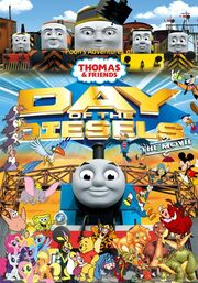Pooh's Adventures of Thomas and Friends - Day of the Diesels - The Movie Poster