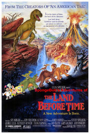 SpongeBob's Adventures of The Land Before Time