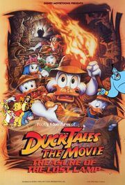 Pooh's Adventures of DuckTales the Movie Poster