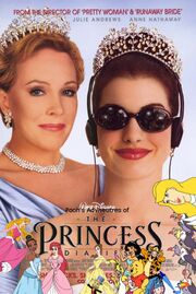 Pooh's Adventures of The Princess Diaries poster (version 3)