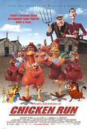 Pooh's Adventures of Chicken Run Poster
