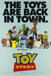 Ash's Adventures of Toy Story poster