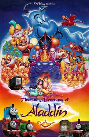 Thomas' Adventures of Aladdin Poster