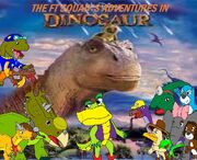 The FT Squad's Adventures in Dinosaur
