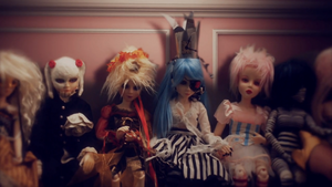 Tea Party dolls (2)