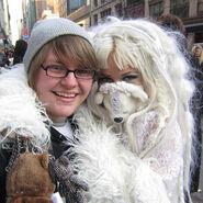 Kerli in New York during Fashion Week 2011 (6)