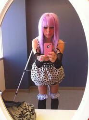 Kerli purple hair 4