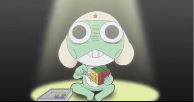 File:Rubik Cube makes Keroro went crazy.png