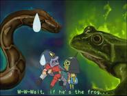 Snake-frog frog-snake