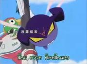 Garuru in Keroro Gunso OP 9