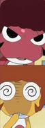 Giroro and Kururu's afros
