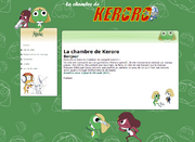 Website la chambre de keroro