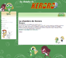 Forum and website: La Chambre de Keroro
