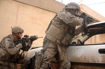 Mosul firefight
