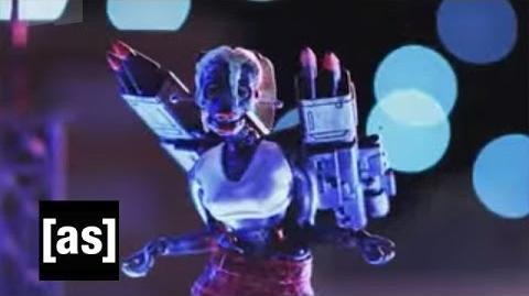 Independent Robot Woman