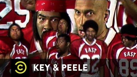 Key & Peele East West Bowl Rap
