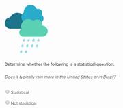 Statisticalquestions