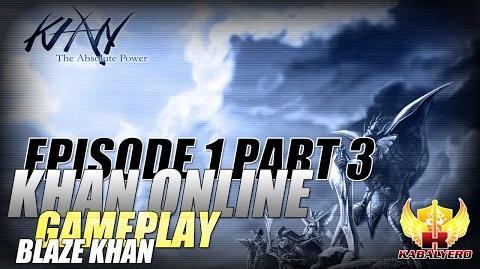 Khan Online Gameplay E1P3 Blaze Khan - Skill Points, Pants, Razer Deathadder & Shortcut Keys