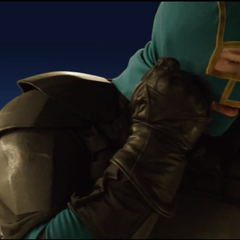 Kick-Ass about to remove his mask