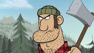 Evil lumberjack