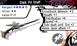FangSylux's Dark Pit Staff by Crogenitor SkyGrexor aka SkyRider3217
