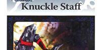 Knuckle Staff - AR Card