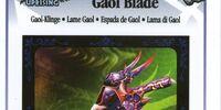 Gaol Blade - AR Card