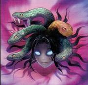 Medusa head art