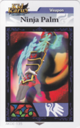 Ninjapalmarcard