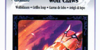 Wolf Claws - AR Card