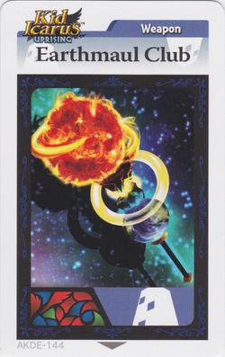 Earthmaulclubarcard