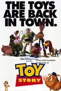 Timon and Pumbaa's adventures of Toy Story Poster