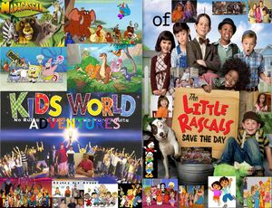 Kids World's Adventures Series of The Little Rascals Save the Day