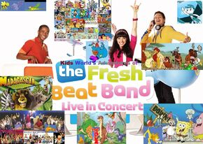 Kids World's Adventures of The Fresh Beat Band Live in Concert