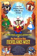 Robin Hood and Alice's Adventures of An American Tail Fievel Goes West poster