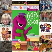 500px-Bobby Cindy & Oliver's Adventures Of Barney Goes To School 1