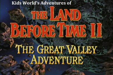 Kids World's Adventures of The Land Before Time 2 The Great Valley Adventure